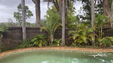 raising height pool fence